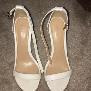 Express white wedges